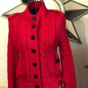 Bebe red sweater
